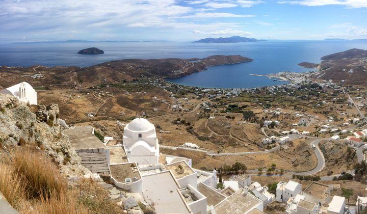 Île de Sérifos dans les Cyclades