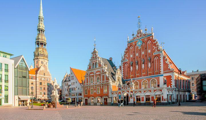 La magnifique ville de Riga, en Lettonie