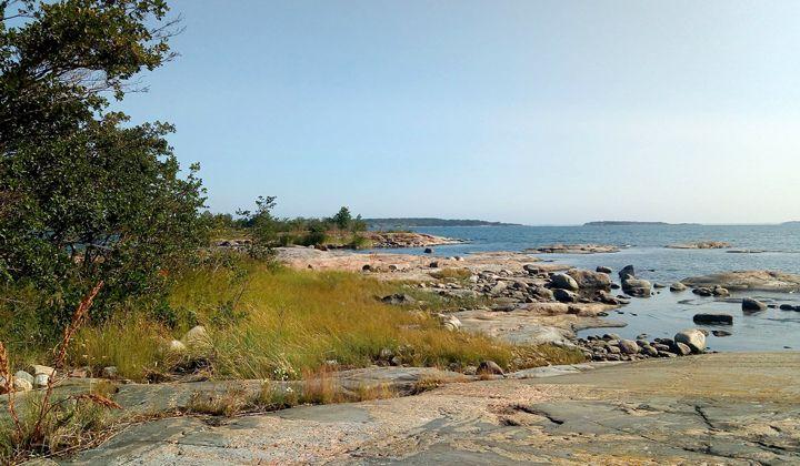 Paysage de l'archipel de Brändö