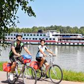 Vélo et bateau