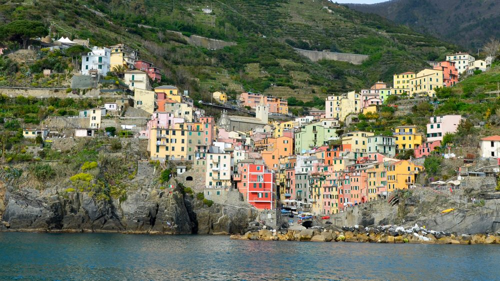Image Les Cinque Terre, villages de pêcheurs et vignobles en terrasses