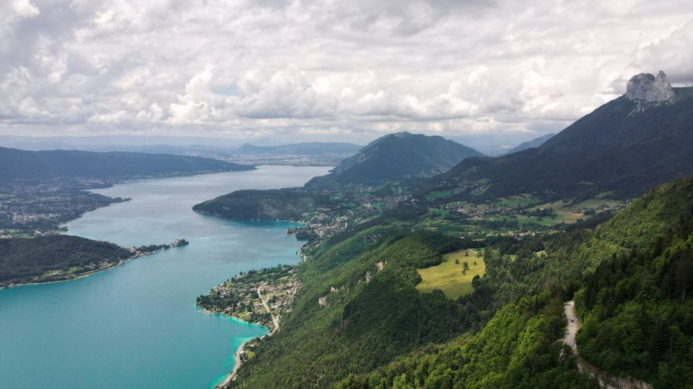 Image Des Aravis au lac d'Annecy