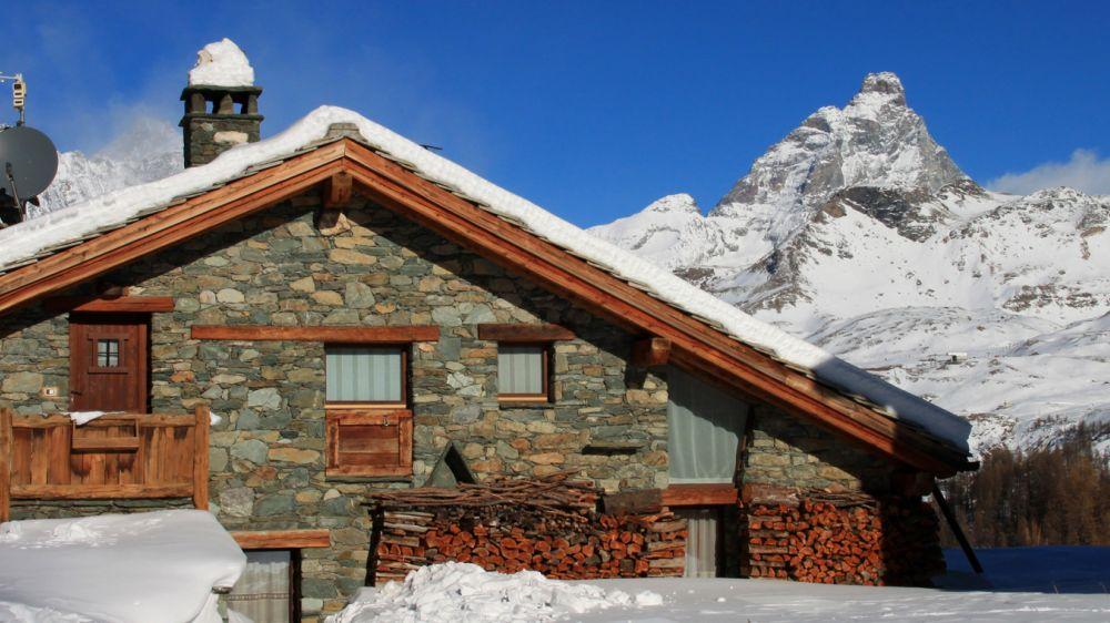 Image Raquettes, Cervin et Alpes italiennes