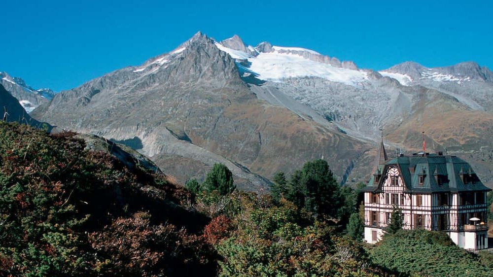 Image Le glacier d'Aletsch, merveille du Valais