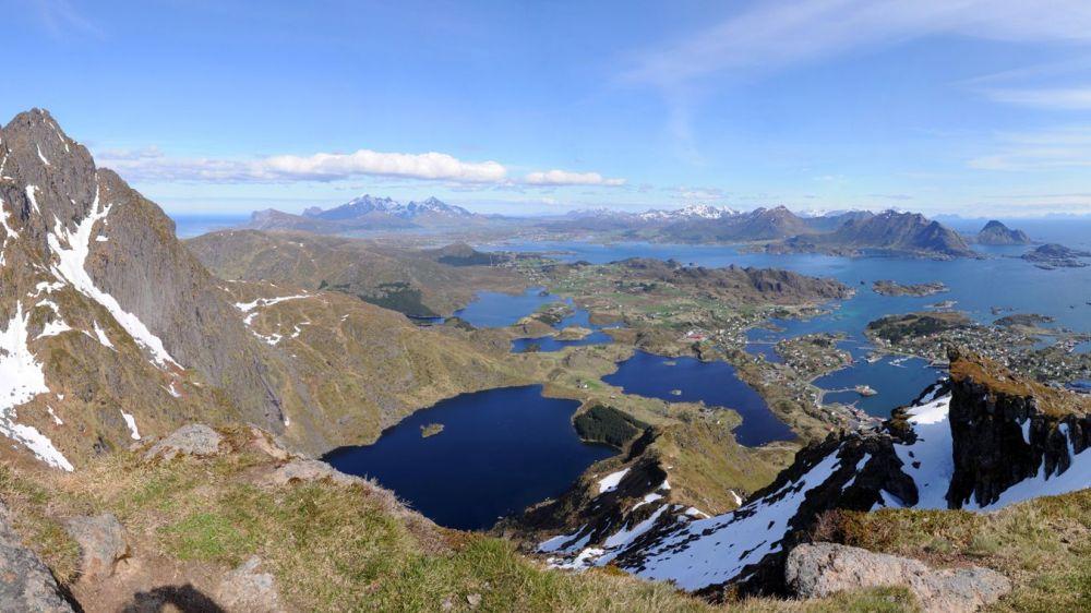 Image Lacs et Fjords des Lofoten