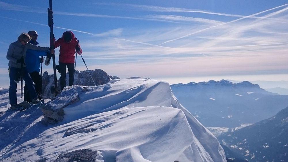 Image Dolomites : les neiges de San Martino
