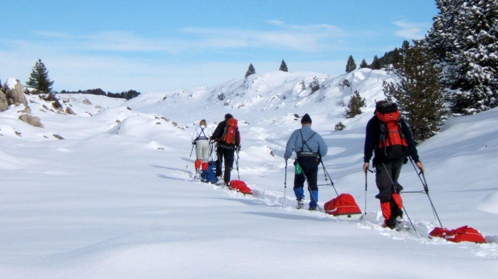 Image Réveillon et Igloo sur les hauts plateaux du Vercors