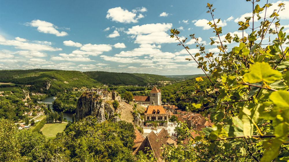 Image Chemins de Saint-Jacques : randonnée de Conques à Cahors par la vallée du Célé