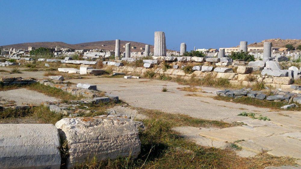 Image Anthologie cycladique : Andros, Tinos, Mykonos, Délos, Paros
