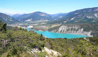 Voyage à pied : Provence : Le Train des Pignes, de Nice à Digne-les-Bains