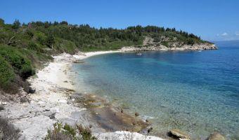 Baie de Kipiadi sur l'île de Paxos