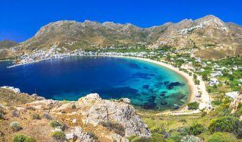La baie de Livadi, île de Sérifos, Cyclades