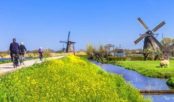 Voyage en véhicule : Les Merveilles de la Hollande à vélo et bateau