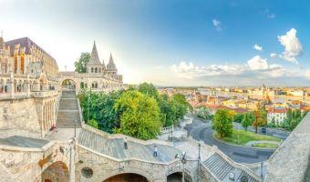 Le Bastion des pêcheurs et la capitale de la Hongrie : Budapest