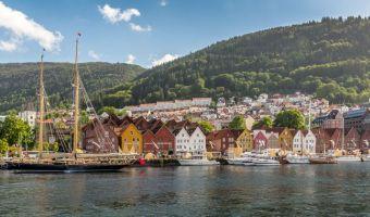 Quartier historique de Bryggen à Bergen