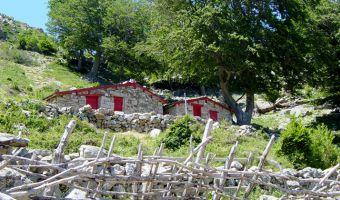 Cabanes de berger sur le GR20