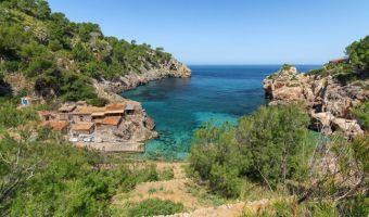 Cala Deià sur l'île de Majorque