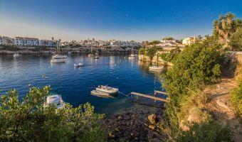 Cala Pedrera près de Mahon sur l'île de Minorque
