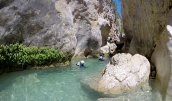 Canyoning dans les gorges de Guara