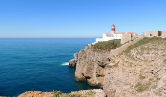 Le cap Saint-Vincent au Portugal