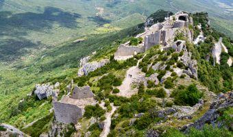 Pays Cathare: de Quéribus à Montségur