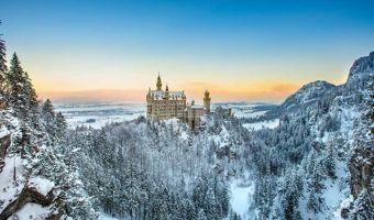 Raquettes et Bien-être aux châteaux de Bavière