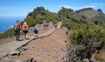 Randonnée sur le chemin du Pico Ruivo