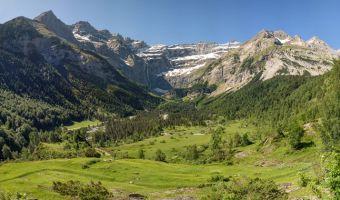 Le cirque de Gavarnie dans les Pyrénées