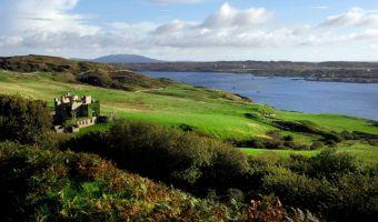 Clifden Castle dans le comté de Galway en Irlande