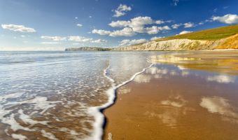 Compton Bay sur l'île de Wight