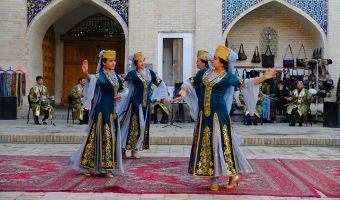 Danse orientale en Ouzbékistan