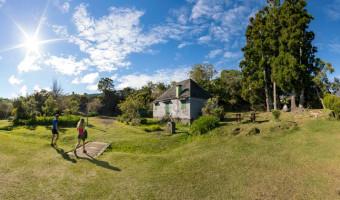 Gîte de Bélouve sur l'île de la Réunion