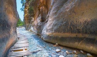 Voyage à pied : Crète et Santorin, balade minoenne