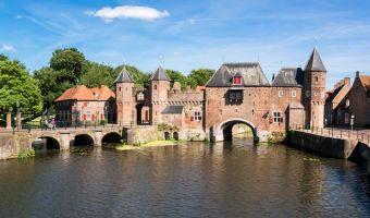 Voyage en véhicule : Sur la route d\'IJsselmeer à vélo
