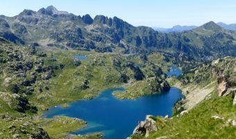 Lacs dans les Encantats