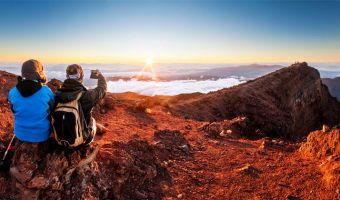 Voyage à pied : Île de la Réunion : traversée light