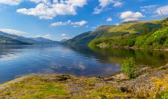 Le Loch Lomond à Rowardennan