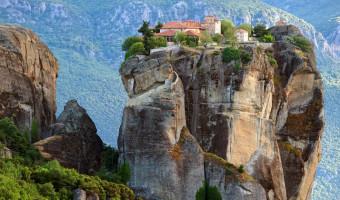 Monastère d'Aghia Triada dans les Météores