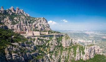 Monastère de Montserrat en Catalogne