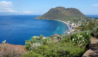 Montagnola di Capo Graziano sur l'île de Filicudi