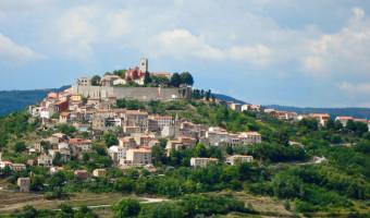 Village de Motovun en Istrie