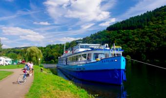 Le bateau MS Patria