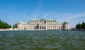 Le palais du Belvédère à Vienne
