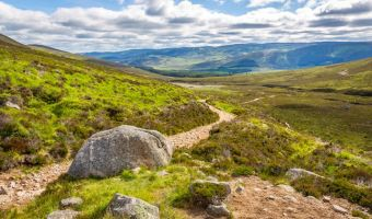 Le parc national de Cairngorms en Écosse