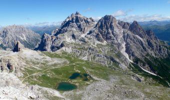 Paysage des Dolomites dans les Alpes italiennes