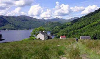 Paysage du Nord de Loch Lomond