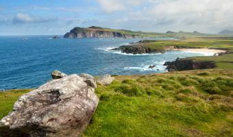 La péninsule de Dingle vue depuis Clogher Head