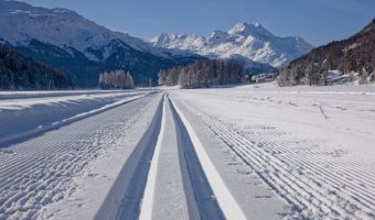 Voyage en raquette : Ski de fond en Haute-Engadine