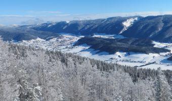 Plaine d'Autrans-Méaudre en hiver