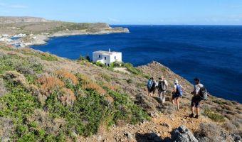 Randonnée de la Chora à Kapsáli sur l'île de Cythère